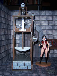 Vampirella and the Pendulum by WeirdFantasticToys