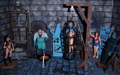 Victim of the Hanging Cage by WeirdFantasticToys