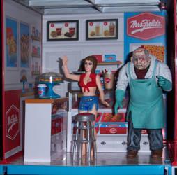 Mrs Fields Cookie Shop by WeirdFantasticToys