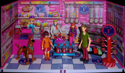 The Gang at the Sweet Factory by WeirdFantasticToys