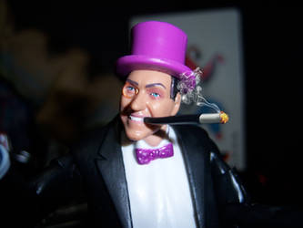 Penguin Close-up Smoking by WeirdFantasticToys