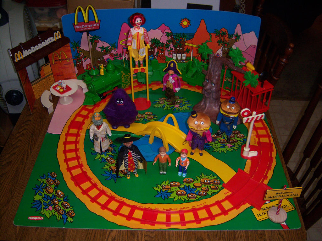 McDonaldland Playset by MisterBill82