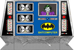 Super Powers Batcomputer Pattern