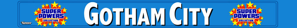Gotham City logo strip by MisterBill82