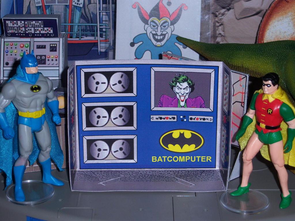 Super Powers Batcomputer by MisterBill82