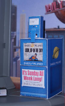 Daily Planet Paper Rack