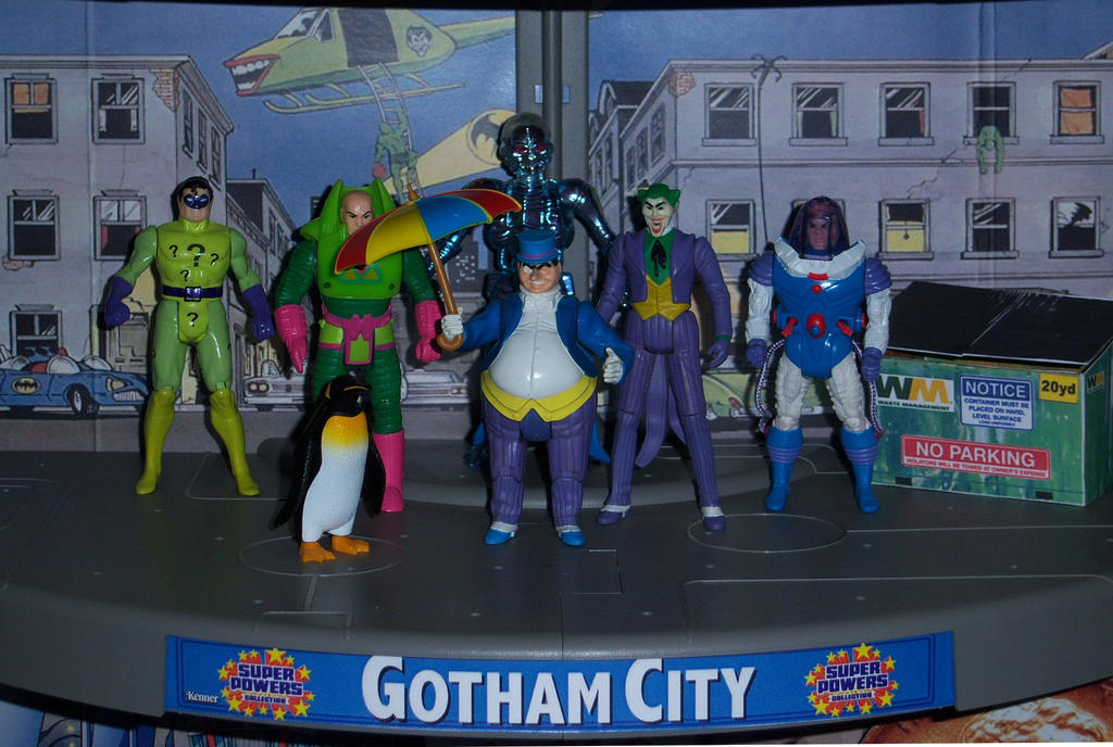 Gotham City Villains by MisterBill82
