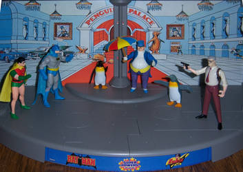 Raid on Penguin's Palace by WeirdFantasticToys