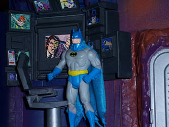 Batcave Command Center by WeirdFantasticToys