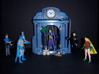 Bank Robbery by WeirdFantasticToys