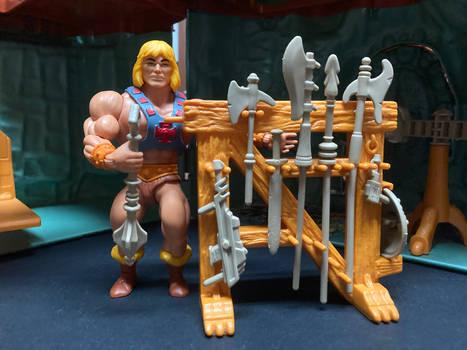 Castle Grayskull Weapons Rack