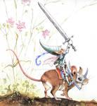 Fairy Knight on Mouseback