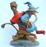Wizard on Runaway Chair model