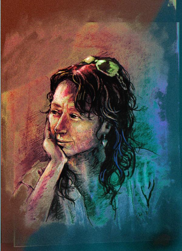 Portrait of E by JohnPatience