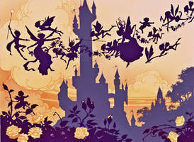 Fairytale Endpapers by JohnPatience