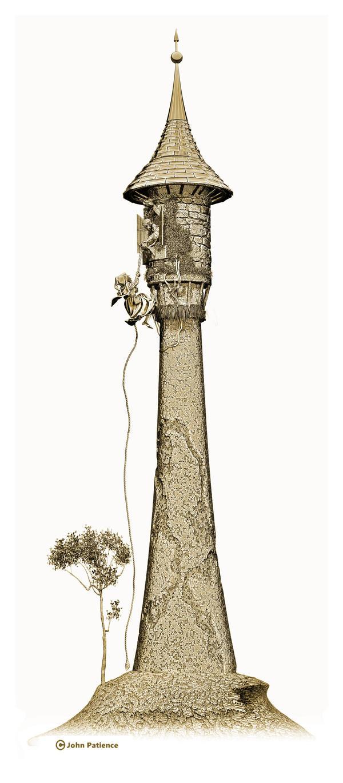 Rapunzel 1 by JohnPatience