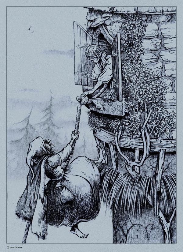 Rapunzel 3 by JohnPatience