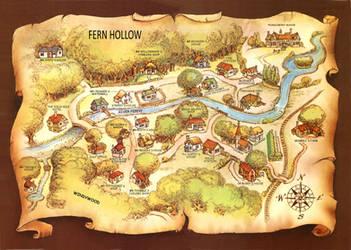 Fern Hollow Map by JohnPatience