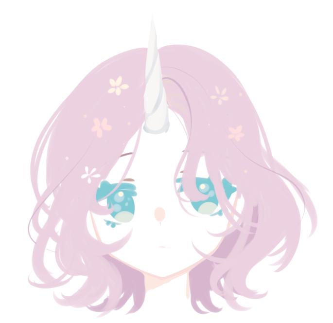 The neck of a unicorn by te--yan
