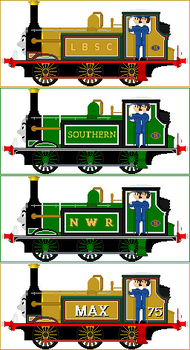 Max The Bluebell Engine (My headcanon)