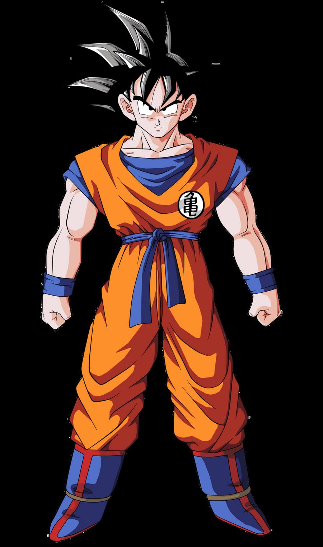 When I say   Goku    Goku