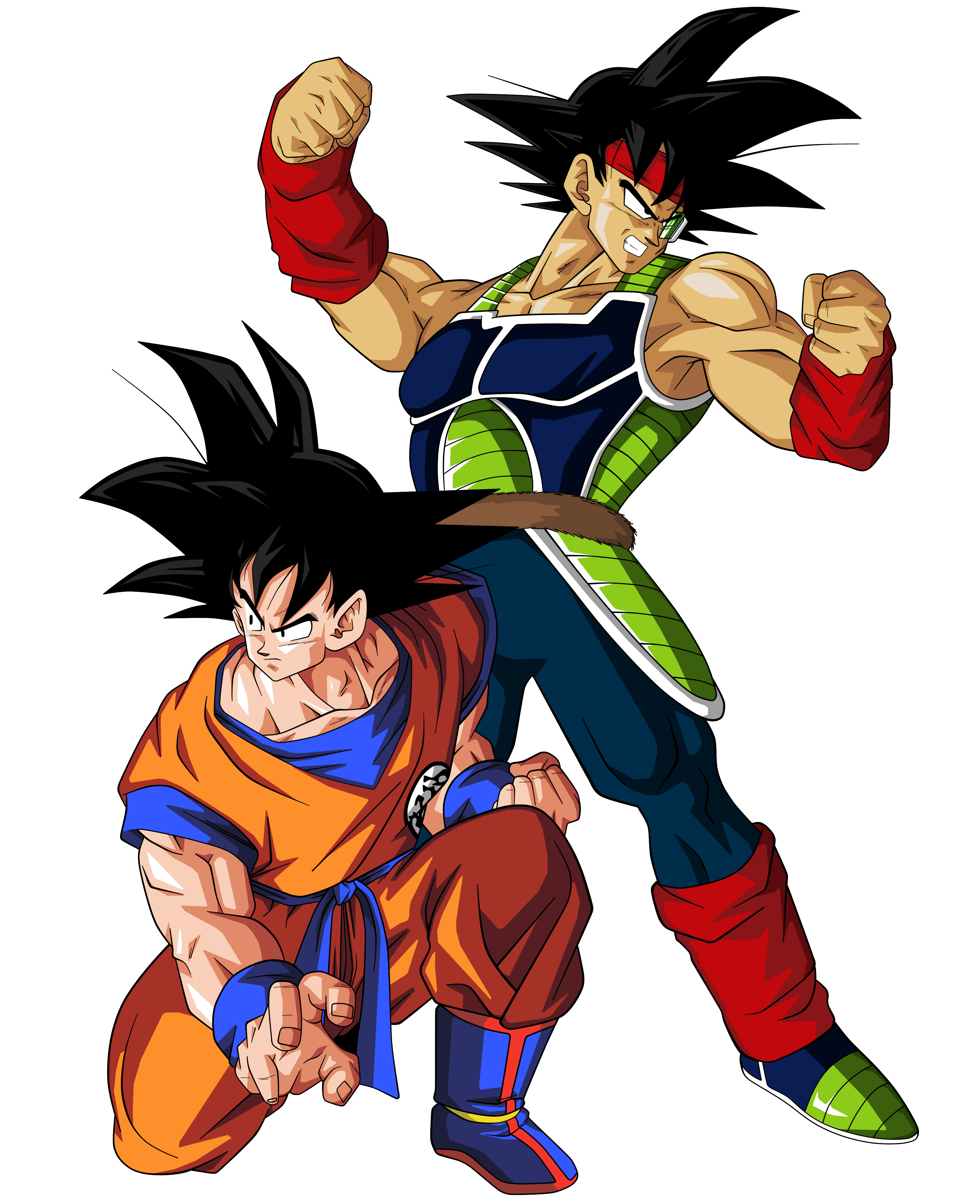 GOKU Y BARDOCK by BardockSonic on DeviantArt