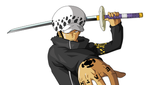 Trafalgar Law by BardockSonic