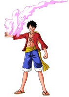 LUFFY by BardockSonic