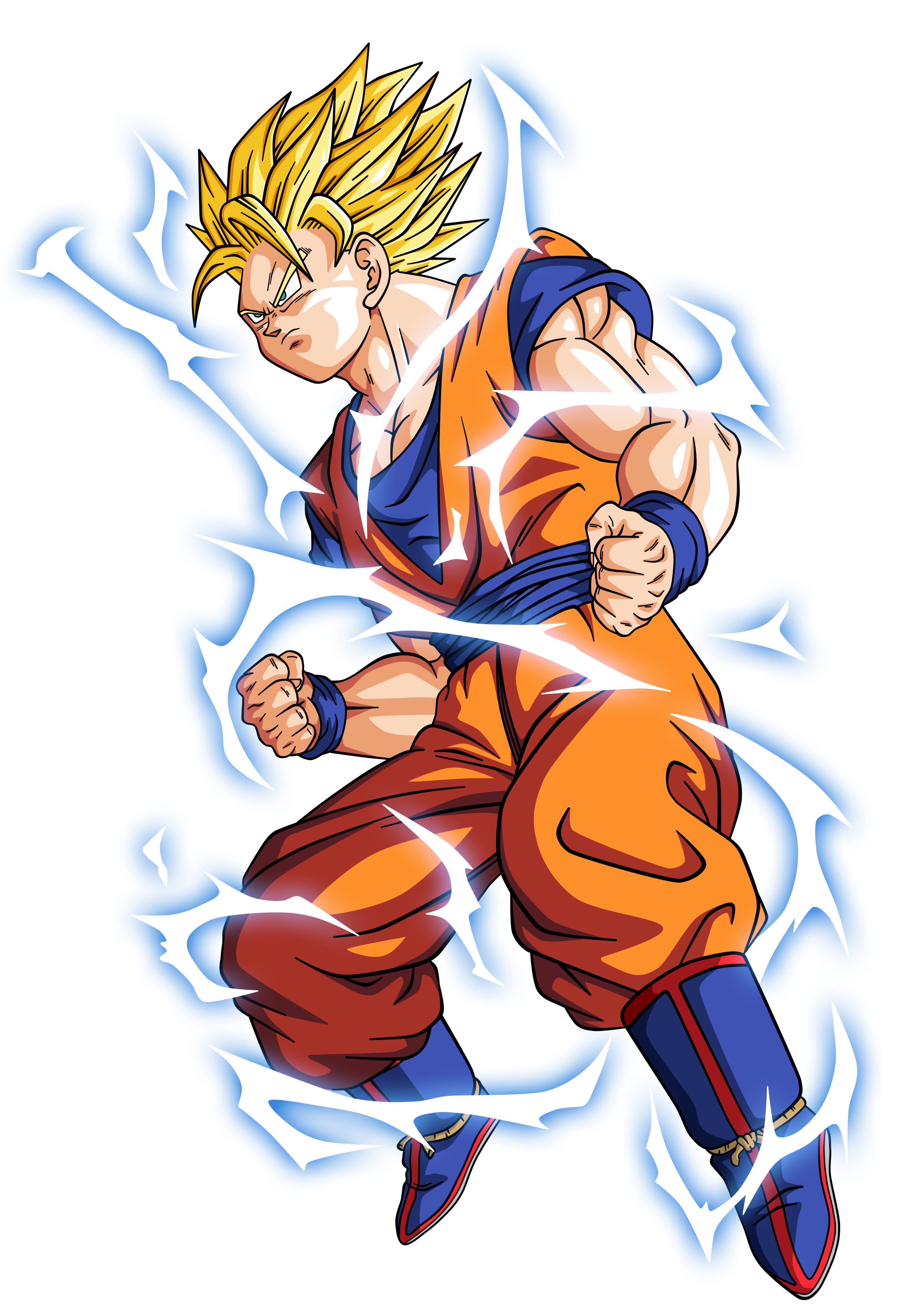 Goku Super Saiyan 2 By Bardocksonic On Deviantart