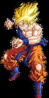 Goku super guerrero namek