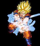 Goku Super Guerrero Onda Vital