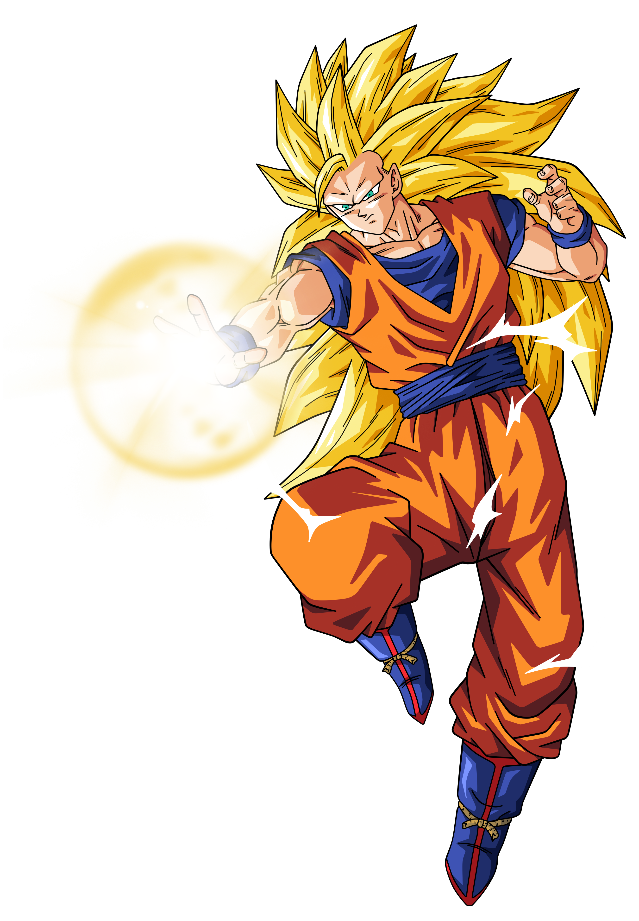 Goku super saiyan 3 by BardockSonic on DeviantArt