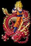 Goku super guerrero dragon