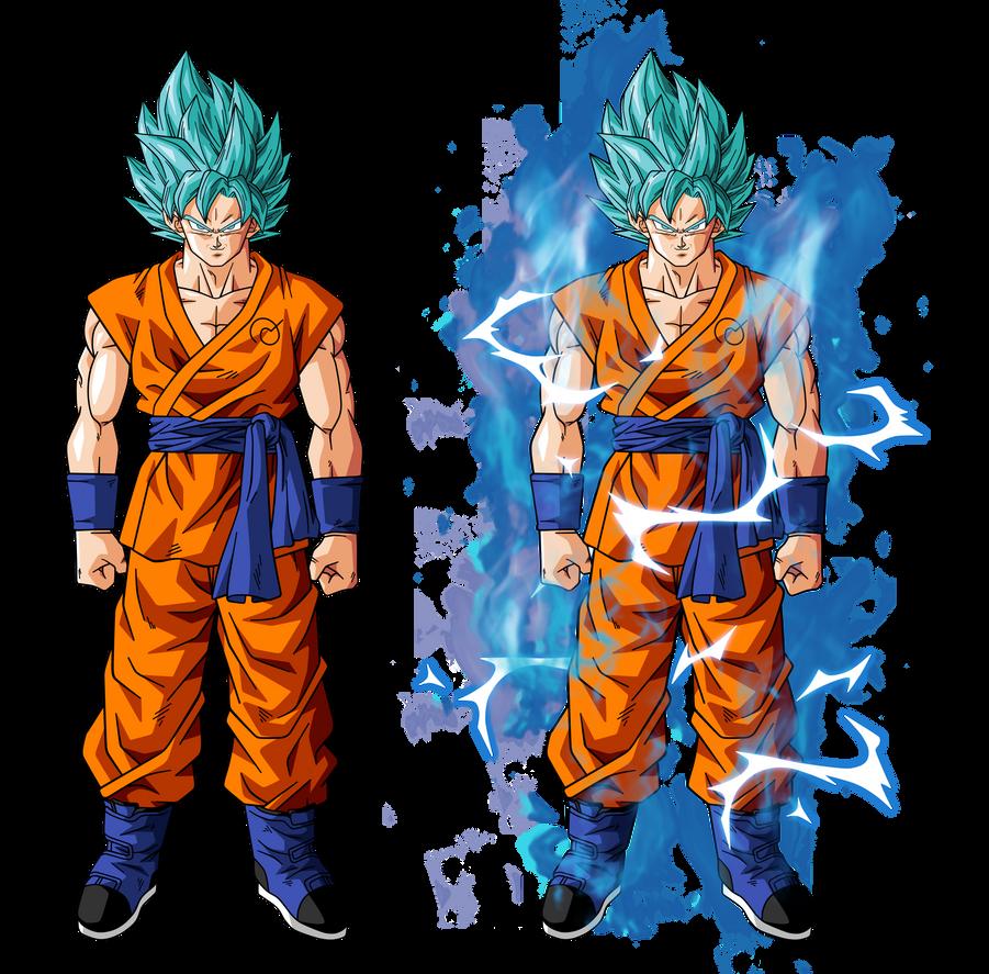 Goku super saiyan god super saiyan by bardocksonic on - Sangoku super saiyan god ...