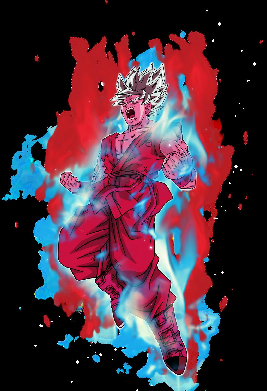 Goku Super Saiyan Blue Kaioken X10 By Bardocksonic On Deviantart