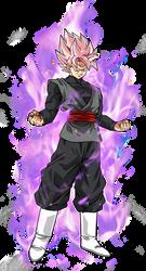 Black Goku super saiyan rose by BardockSonic