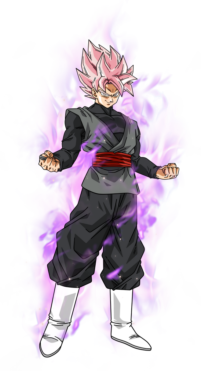 black goku super saiyan rose by bardocksonic on deviantart