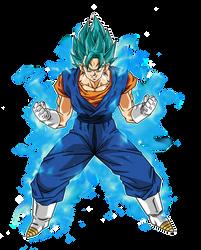 Vegetto Super Saiyan Blue by BardockSonic