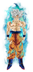 Goku Ultra Instinto Dominado by BardockSonic