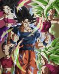Goku Ultra Instinto VS Kefla