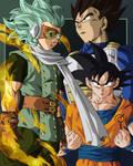 Granola Goku y Vegeta