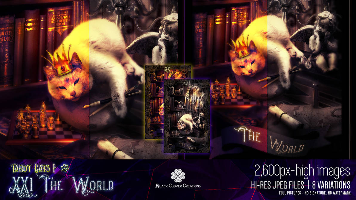 Tarot Cats I - 21 The World [Premium Content Pack]