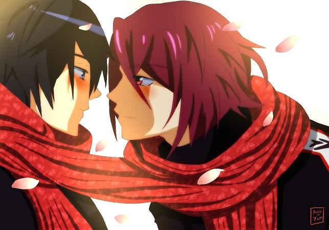 Haru And Rin by Aki-Yuu
