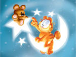 garfield and pooky cute