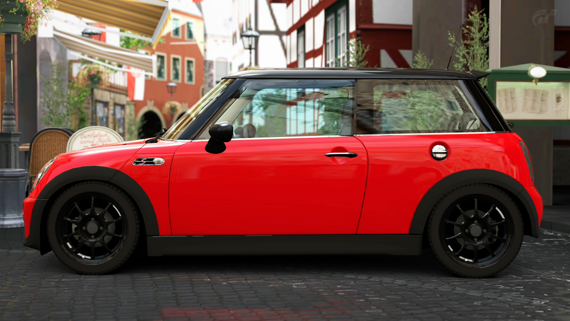 2005 mini cooper s gran turismo 5 by vertualissimo on deviantart. Black Bedroom Furniture Sets. Home Design Ideas