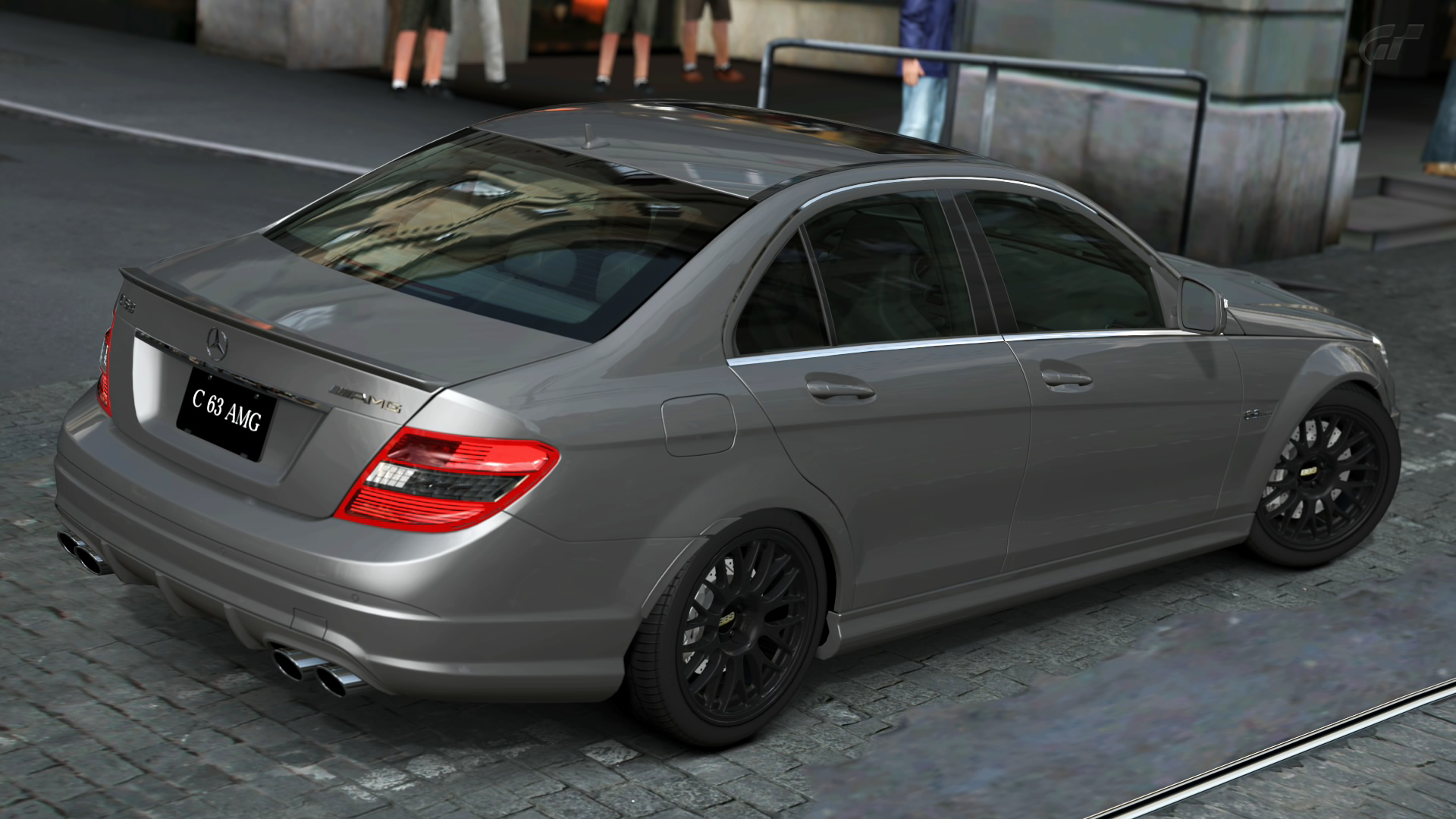 2008 mercedes benz c63 amg gran turismo 5 by. Black Bedroom Furniture Sets. Home Design Ideas