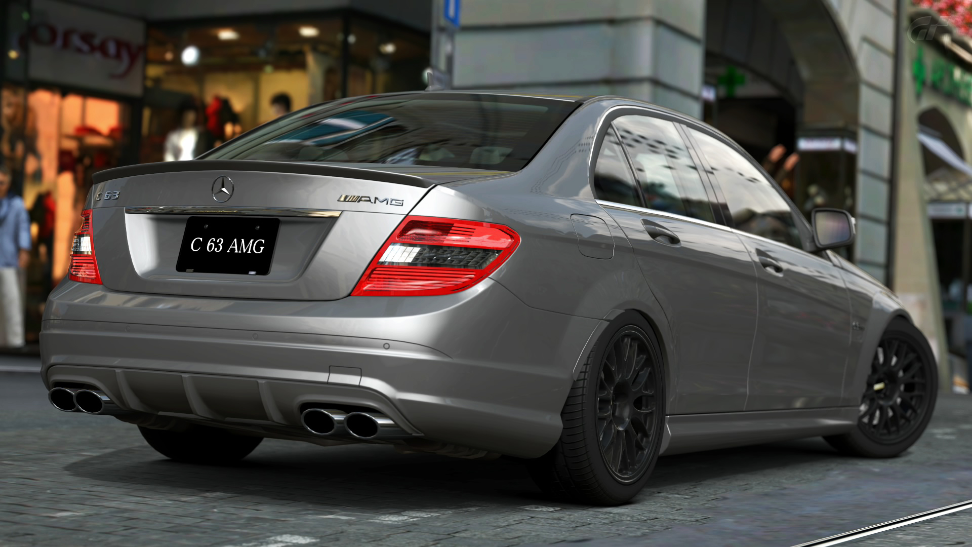 2008 mercedes benz c63 amg gran turismo 5 by vertualissimo
