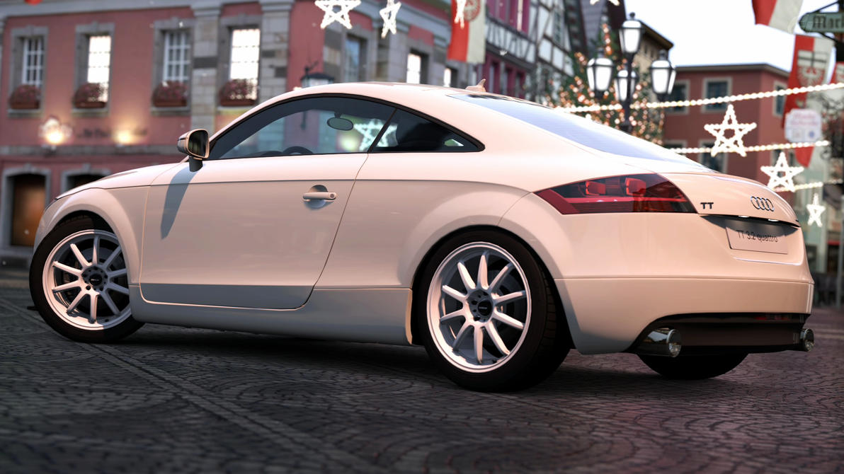 2007 audi tt coupe 3 2 quattro gran turismo 5 by. Black Bedroom Furniture Sets. Home Design Ideas