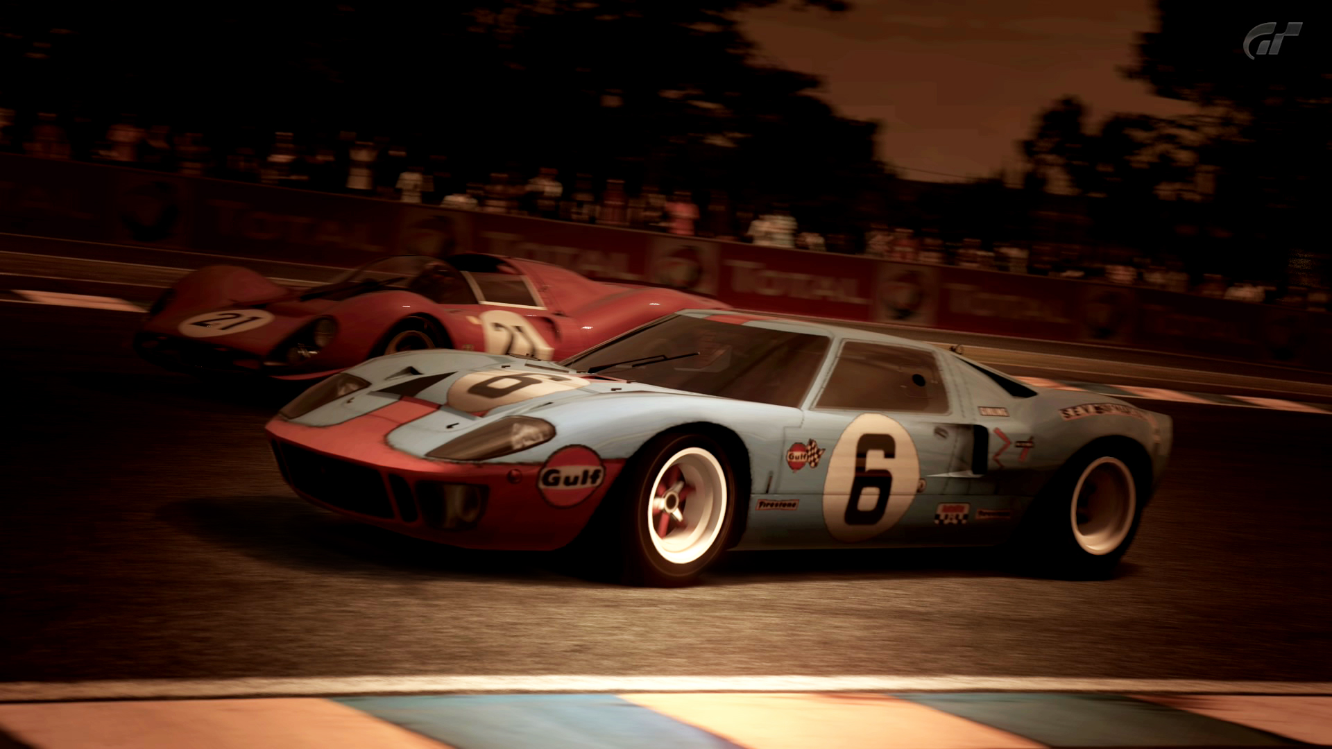 1966 Ford GT40 Race Car Gulf Oil (Gran Turismo 5) by ...