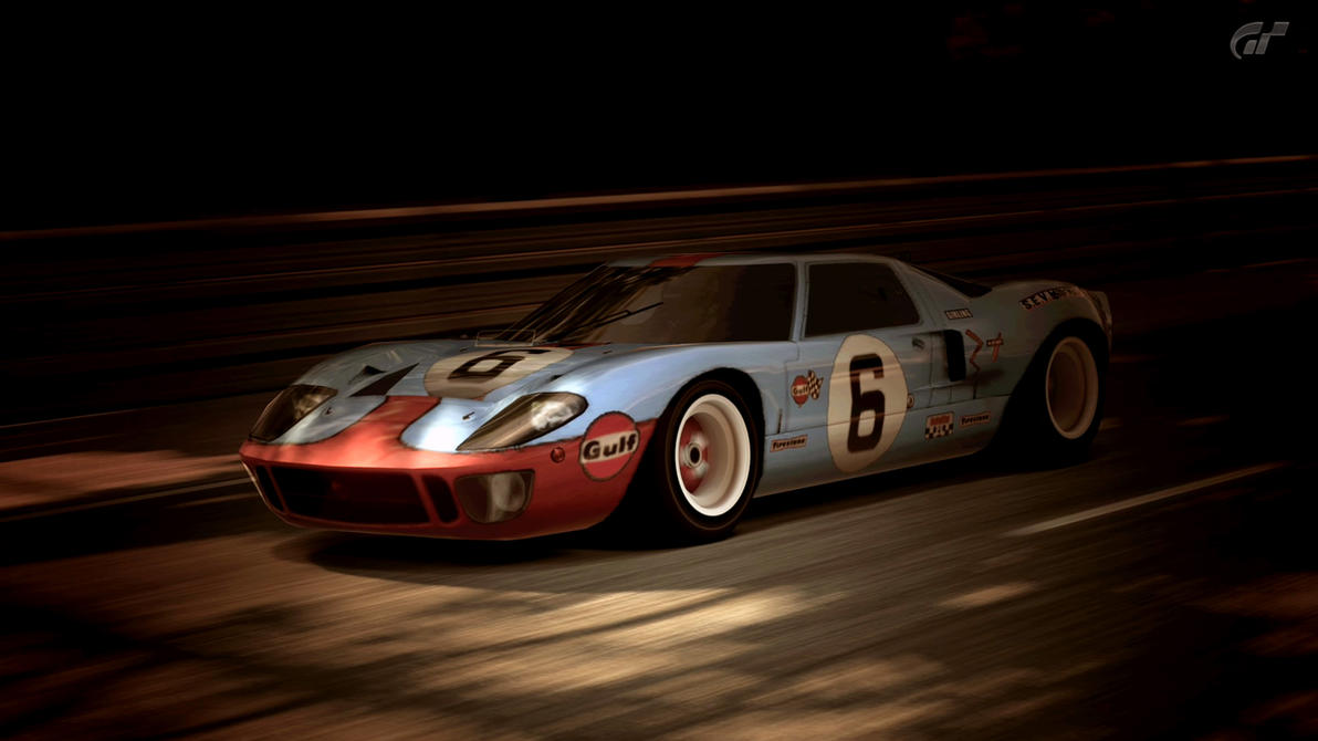 1966 ford gt40 race car gulf oil gran turismo 5 by vertualissimo on - 1966 Ford Gt40 Gulf